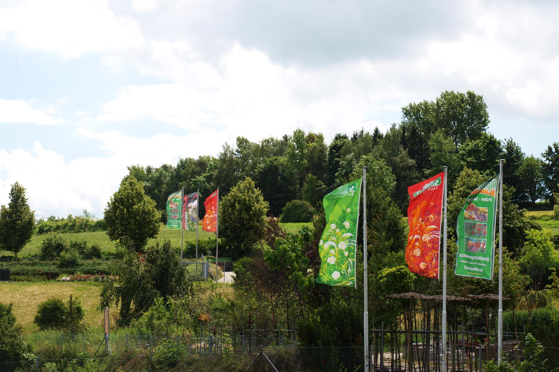 Scheerer Baumschulen & Gartencenter in Langenau/ Albeck, Baden Württemberg, Pflanzenmarkt, Produkvielfalt, Pflanzen, Bäume, Gartengestaltung